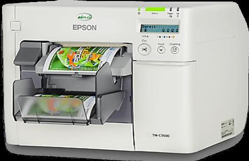 C3500 Renkli Etiket Yazıcı