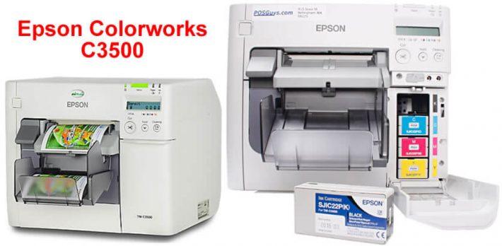 Geleceğin Renkli Etiket Yazıcısı Epson C3500